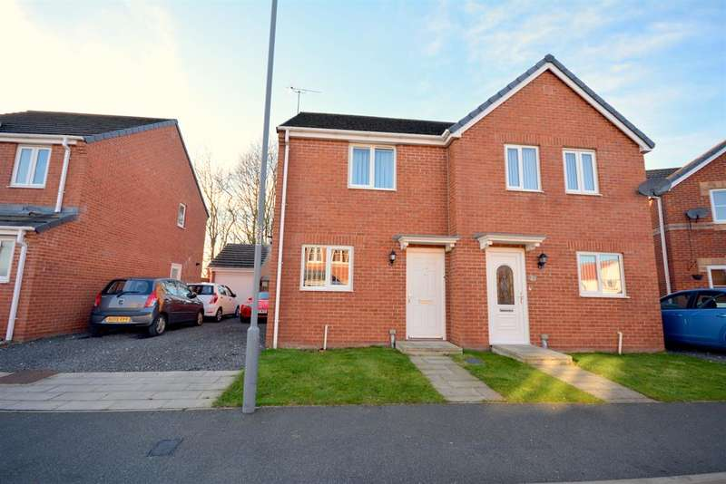 2 Bedrooms Terraced House for sale in Oakley Manor, West Auckland, Bishop Auckland, DL14 9AQ