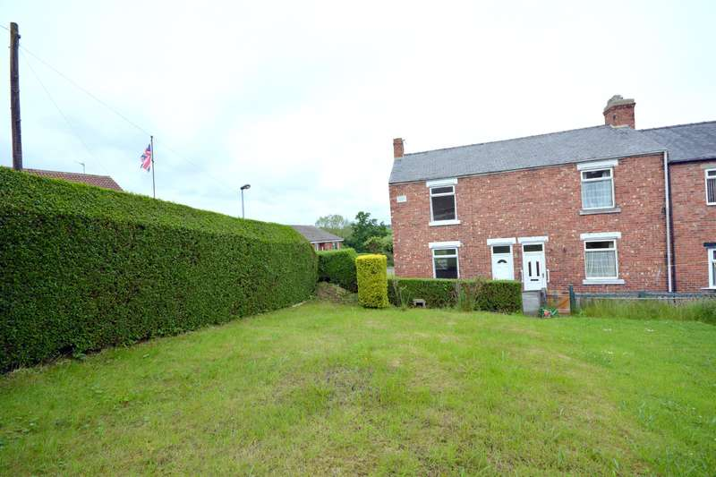 2 Bedrooms End Of Terrace House for sale in Coronation Terrace, Hunwick, Crook, DL15 0LN
