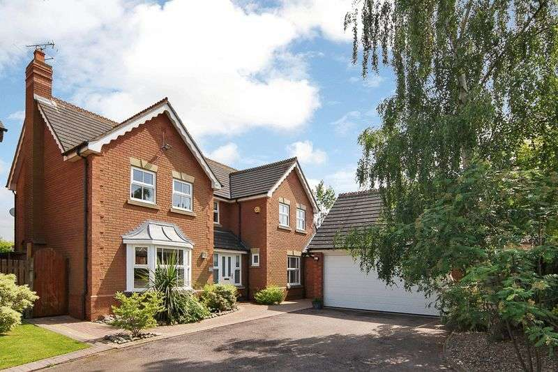 4 Bedrooms Detached House for sale in Swinfield Road, Quorn