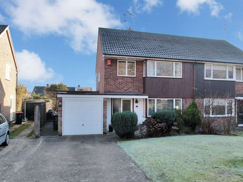 3 Bedrooms Semi Detached House for sale in Arden Road, Furnace Green, Crawley, West Sussex