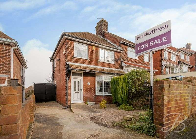 2 Bedrooms Semi Detached House for sale in The Knoll, Mansfield