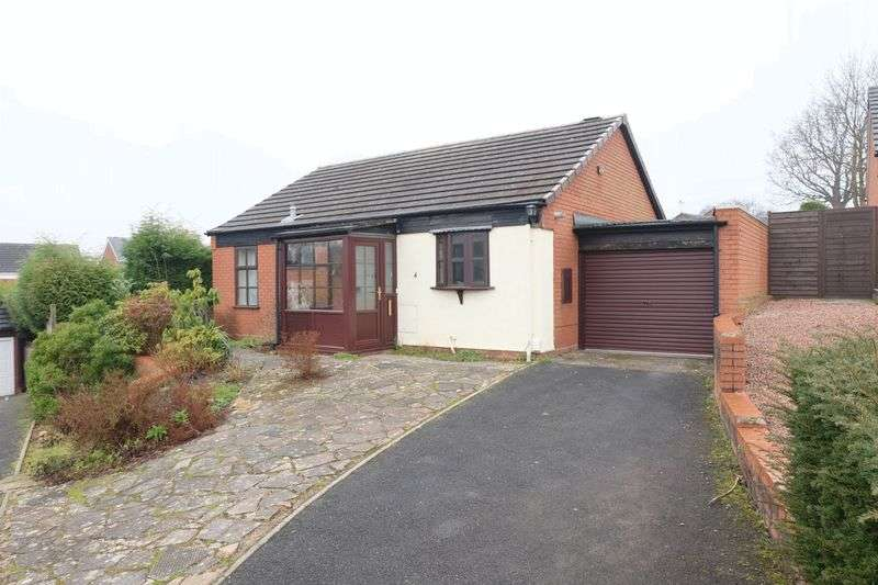 2 Bedrooms Detached Bungalow for sale in Merganser Way, Kidderminster DY10 4EQ