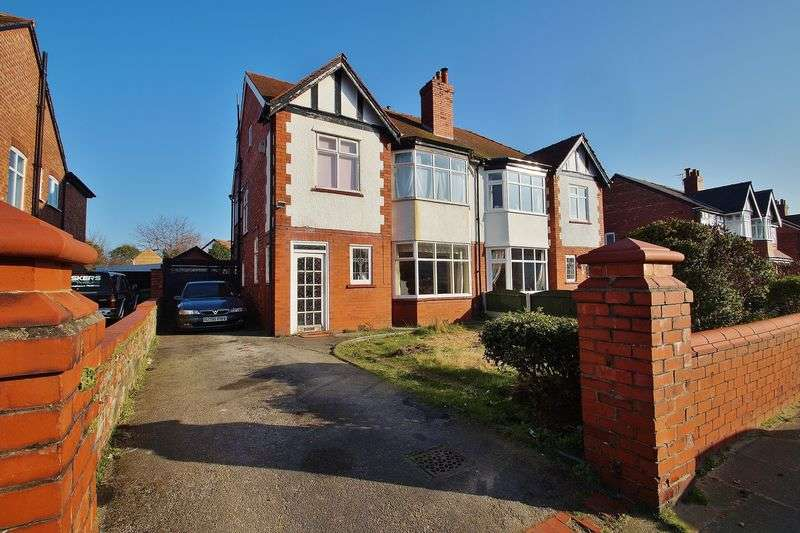 4 Bedrooms Semi Detached House for sale in Dunbar Road, Southport
