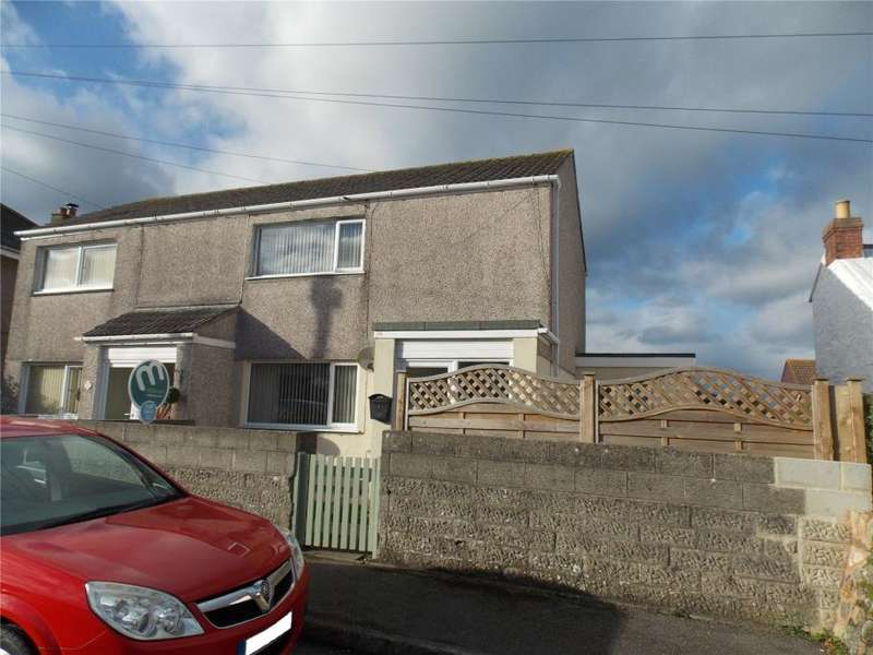 2 Bedrooms Semi Detached House for sale in Ambrose Court, Mount Ambrose, Redruth