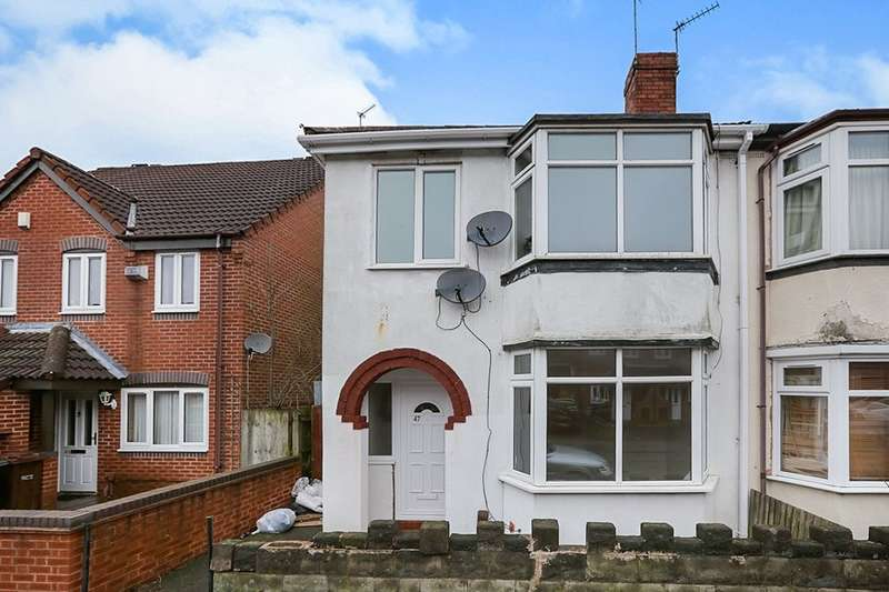 3 Bedrooms Semi Detached House for sale in Chester Street, Wolverhampton, WV6