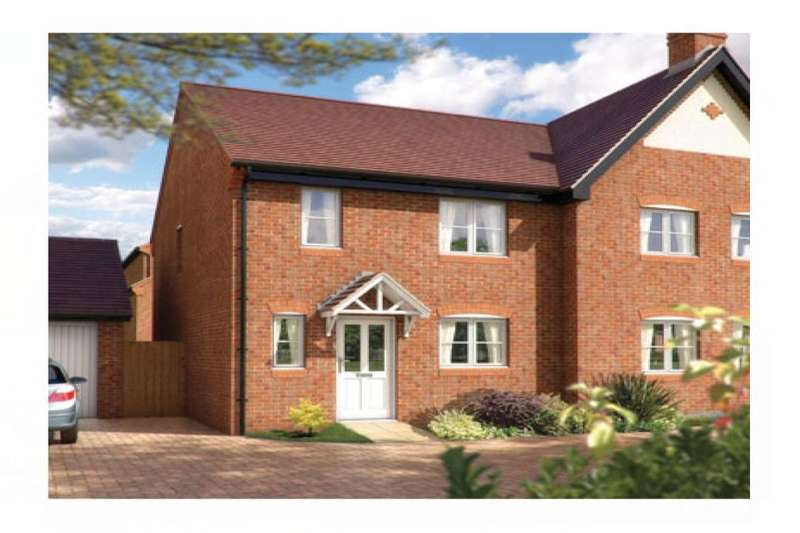 3 Bedrooms Semi Detached House for sale in The Southwold Oakford Grange, Telford, TF1