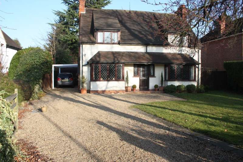 4 Bedrooms Detached House for sale in Butts Hill Road, Woodley, Reading, RG5