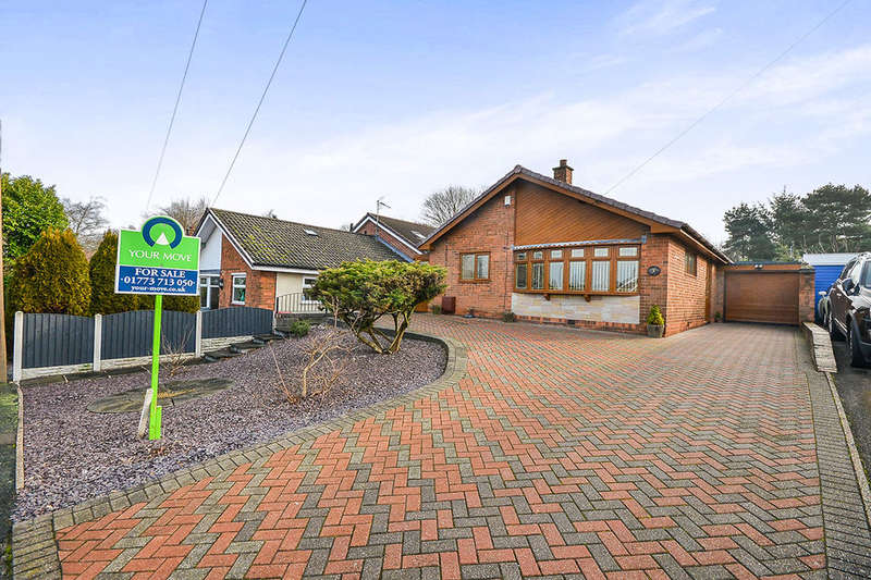 2 Bedrooms Detached Bungalow for sale in Vale Close, Eastwood, Nottingham, NG16