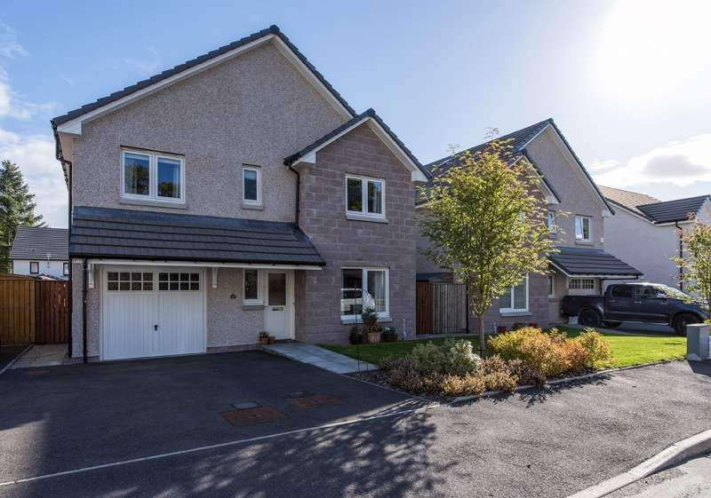 4 Bedrooms Detached House for sale in Polo Park, Stoneywood, Aberdeen, AB21 9JW