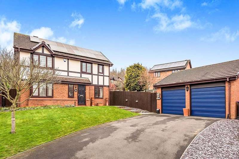 4 Bedrooms Detached House for sale in Everglade Road, Priorslee, Telford, TF2