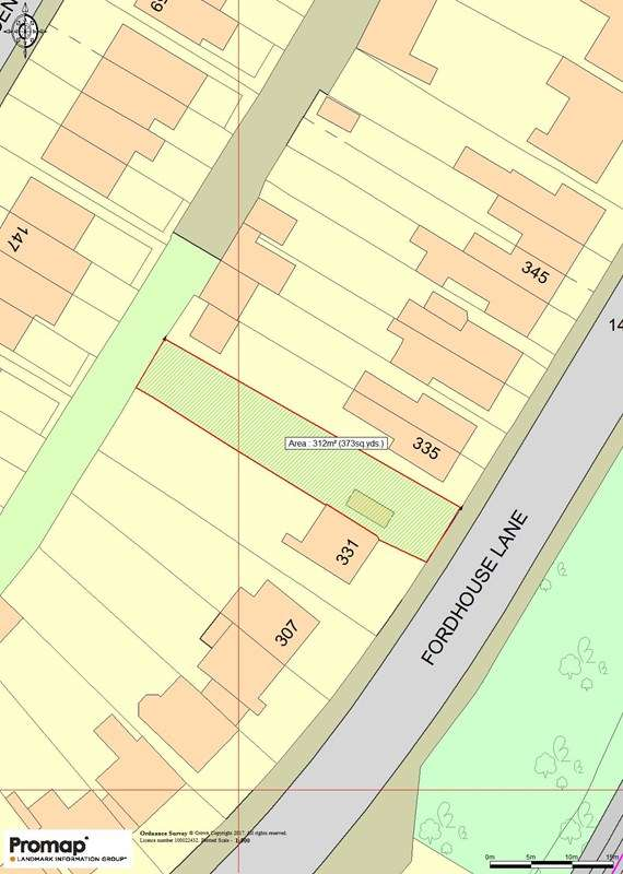 Land Commercial for sale in LAND BETWEEN 331 & 335 FORDHOUSE LANE