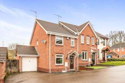 3 Bedrooms Semi Detached House for sale in Combroke Grove, Hatton Park, Warwick