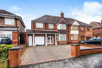 5 Bedrooms Semi Detached House for sale in Walstead Road, Walsall, West Midlands