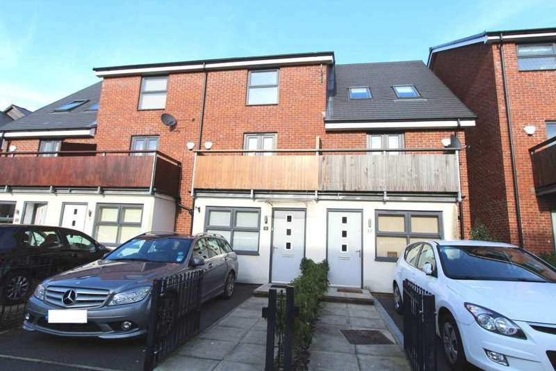 4 Bedrooms Terraced House for sale in Houseman Crescent, West Didsbury, M20 2JD