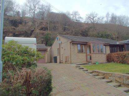2 Bedrooms Bungalow for sale in Rock Bridge Fold, Whitewell Bottom, Rossendale, Lancashire, BB4