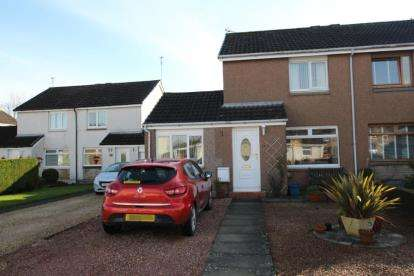 2 Bedrooms Semi Detached House for sale in Airth Drive, Stirling