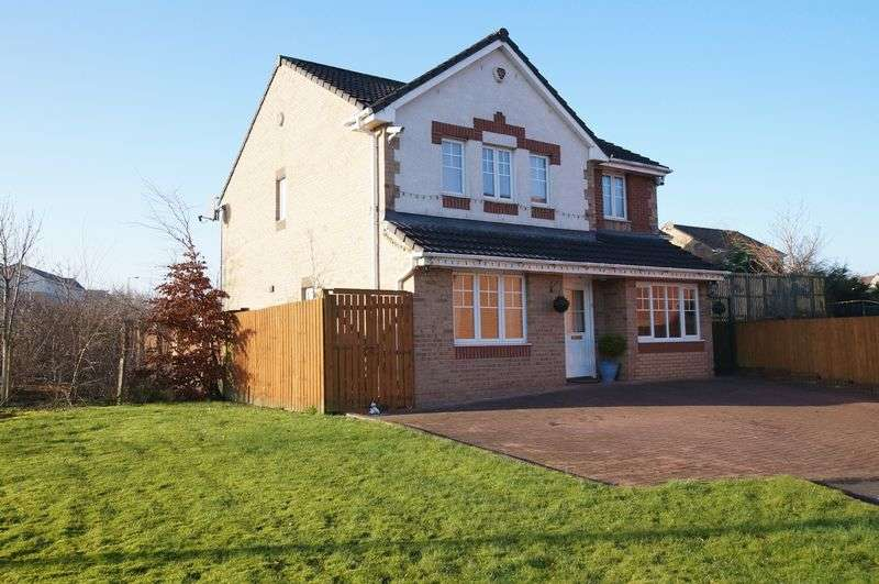 4 Bedrooms Detached House for sale in Miller Gardens, Kings Meadow, Bishopbriggs Glasgow G64 1FG