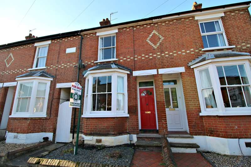 2 Bedrooms Terraced House for sale in Brampton Park Road, Hitchin, SG5
