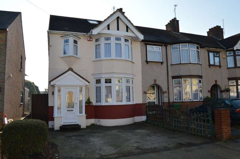 4 Bedrooms End Of Terrace House for sale in Essex Road, Romford