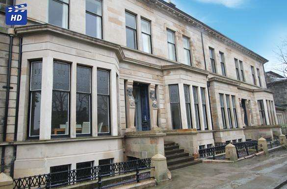 3 Bedrooms Flat for rent in Lancaster Terrace, West End, Glasgow