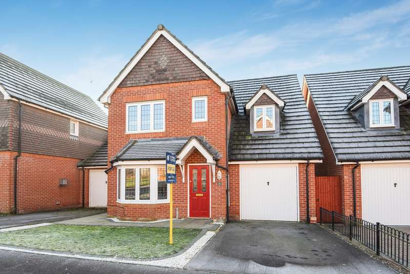 3 Bedrooms Detached House for sale in Rycroft Meadow, Beggarwood, Basingstoke, RG22