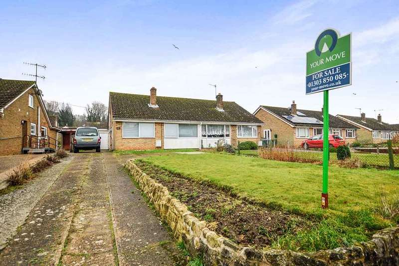 2 Bedrooms Semi Detached Bungalow for sale in Station Road, Lyminge, Folkestone, CT18
