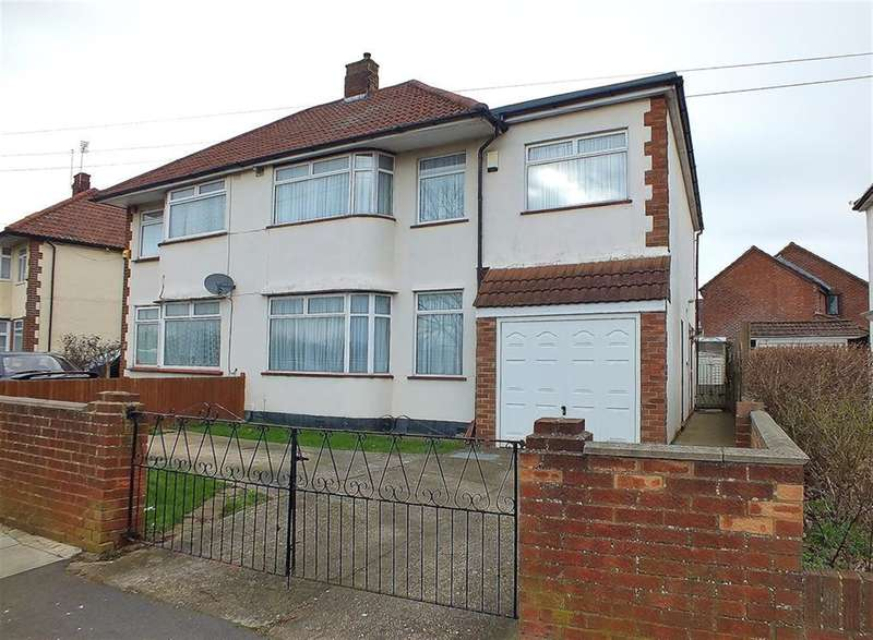 5 Bedrooms Semi Detached House for sale in Botwell Common Road, Hayes, UB3 1JA