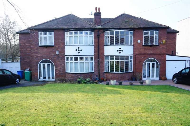 4 Bedrooms Semi Detached House for sale in Edge Lane, Chorlton, Manchester, M21