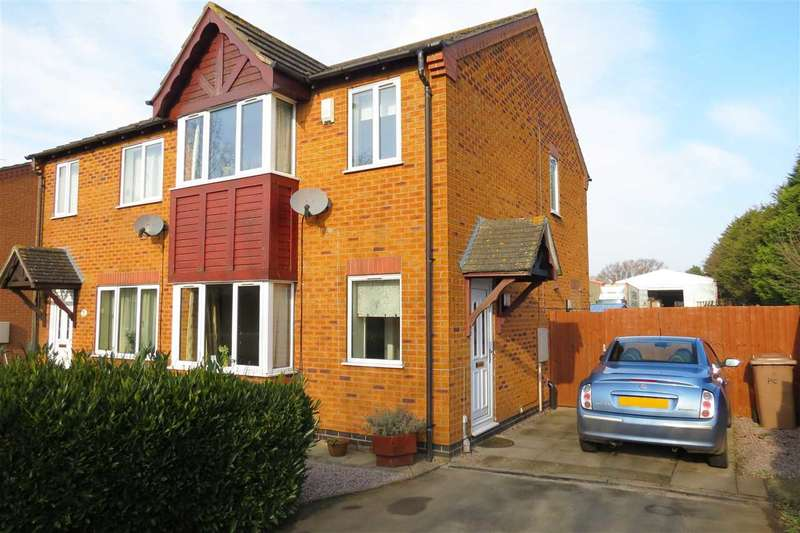 3 Bedrooms Semi Detached House for sale in Pinfold Close, Osbournby