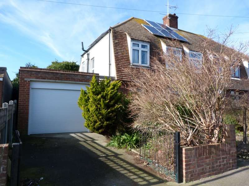 3 Bedrooms Semi Detached House for sale in Dalmaney Close, Broadstairs