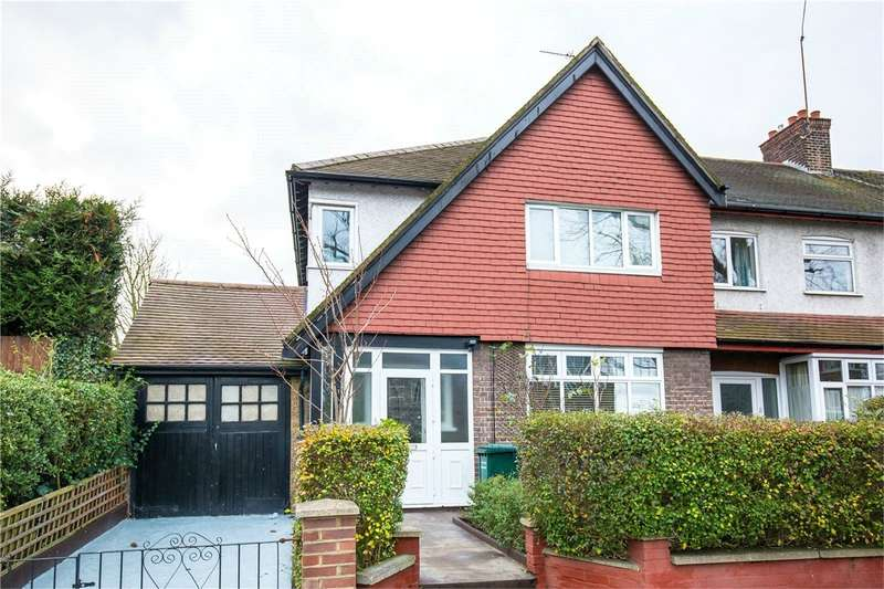3 Bedrooms End Of Terrace House for sale in High Road, East Finchley, London