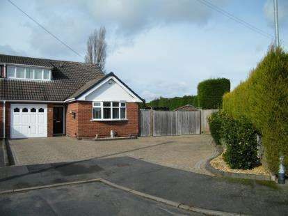 3 Bedrooms Semi Detached House for sale in Foxcroft Close, Burntwood, Staffordshire