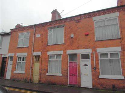 2 Bedrooms Terraced House for sale in Beaumanor Road, Leicester, Leicestershire