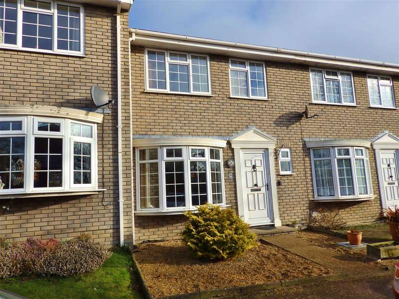 3 Bedrooms Terraced House for sale in Roborough Close, Eastbourne