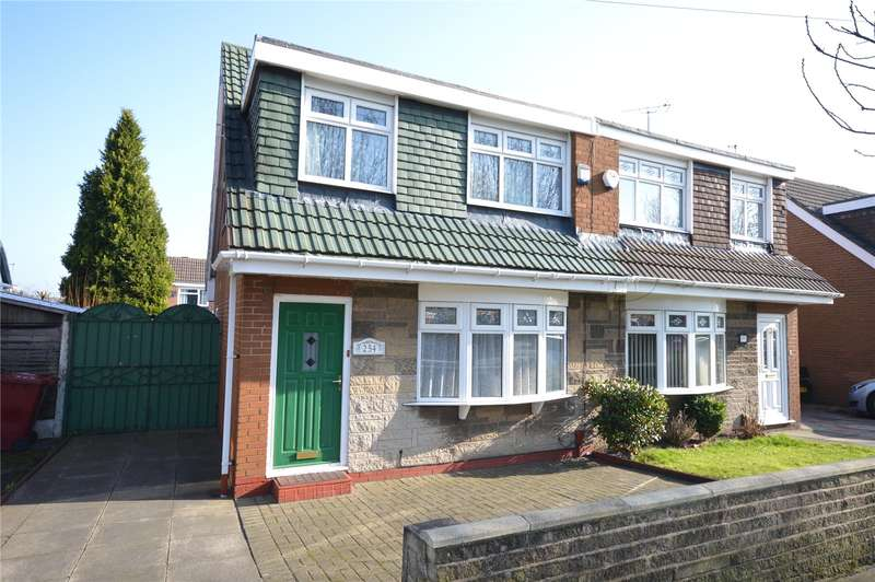 3 Bedrooms Semi Detached House for sale in Mackets Lane, Hunts Cross, Liverpool, L25