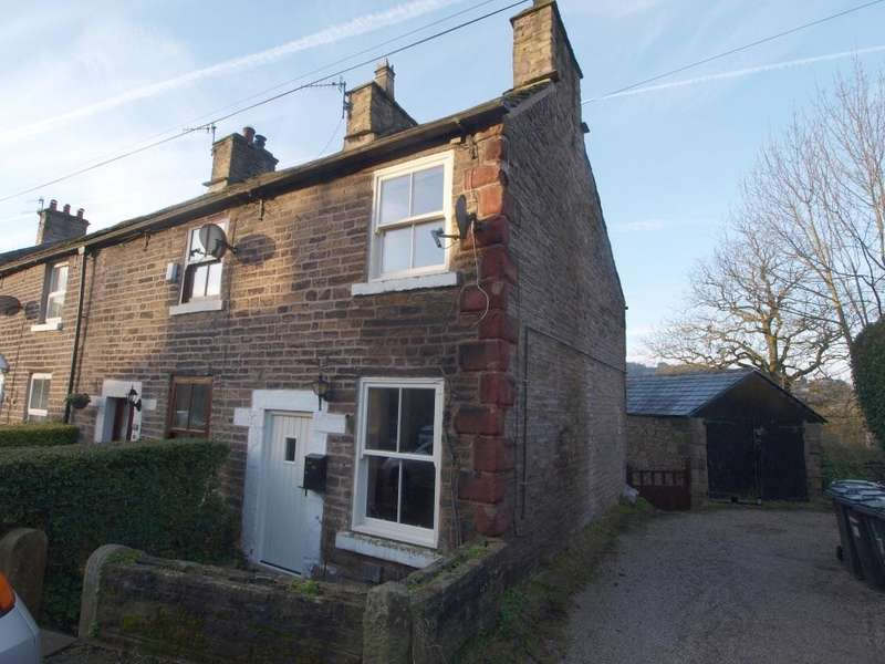 1 Bedroom End Of Terrace House for sale in Old Road, Whaley Bridge, High Peak, Derbyshire, SK23 7LA