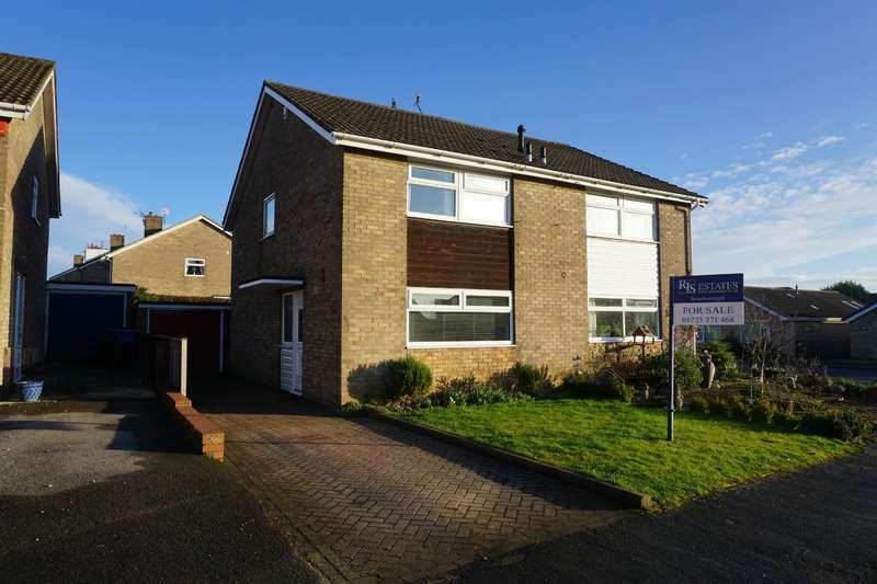 3 Bedrooms Semi Detached House for sale in Leighton Close, Crossgates, Scarborough, YO12 4JZ