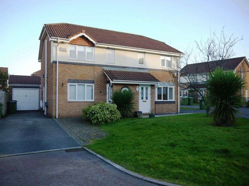 3 Bedrooms Semi Detached House for rent in Gleneagles Close, Pensby, Wirral, CH61 5YF
