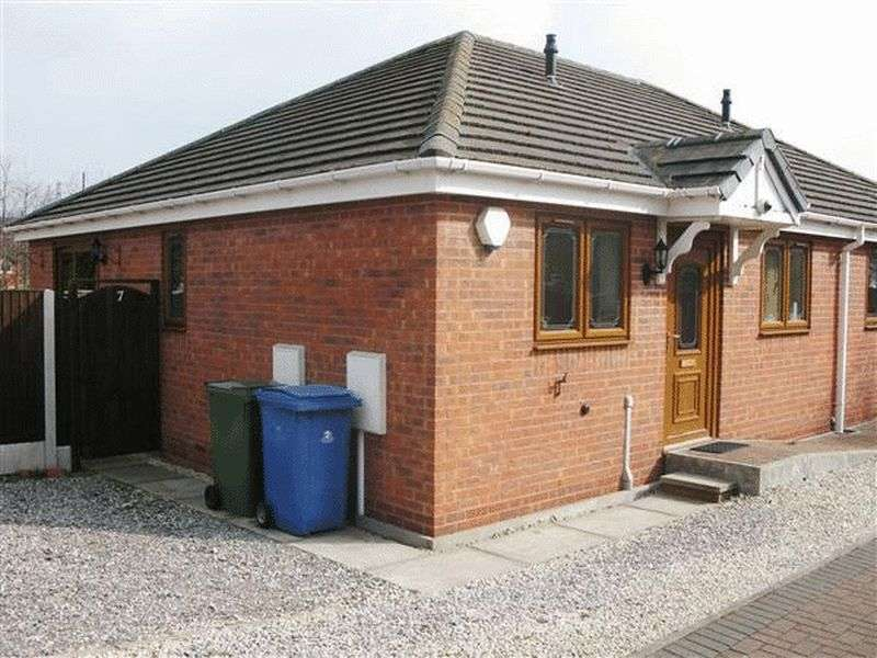2 Bedrooms Semi Detached Bungalow for sale in Millennium Court, Mansfield