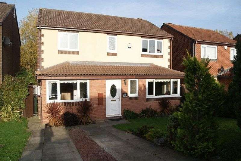 5 Bedrooms Detached House for sale in Garleigh Close, Killingworth, Newcastle Upon Tyne