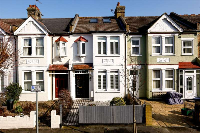 3 Bedrooms Terraced House for sale in Carlton Park Avenue, London, SW20