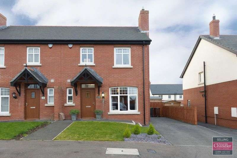 3 Bedrooms Semi Detached House for sale in 4 Coopers Mill Grove, Dundonald, BT16 1SG