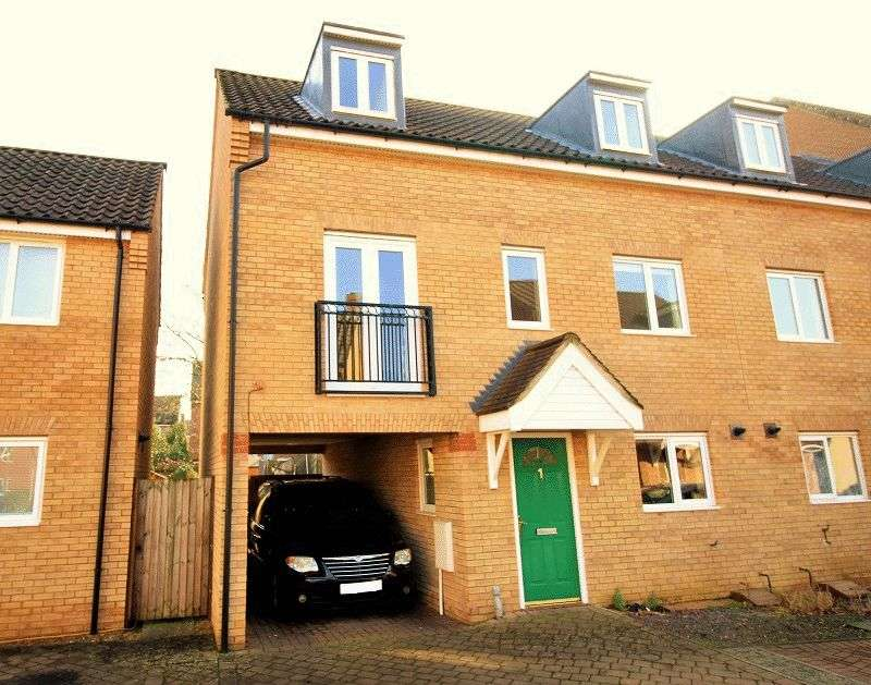 4 Bedrooms Terraced House for sale in Camelia Close, Hethersett, Norwich