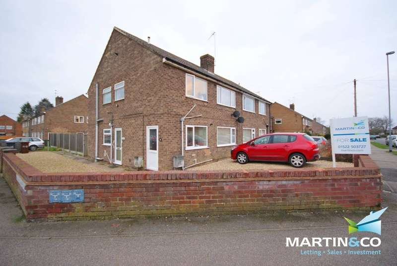 2 Bedrooms Ground Flat for sale in Woodfield Avenue, Lincoln