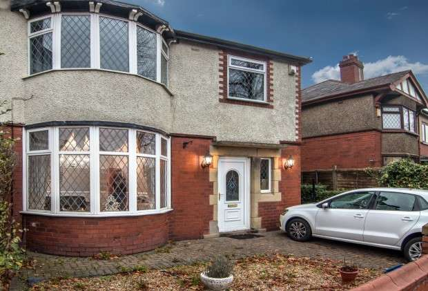 4 Bedrooms Semi Detached House for sale in Watling Street Road, Fulwood, Preston, PR2
