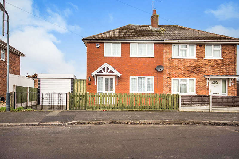 2 Bedrooms Semi Detached House for sale in Potters Road, Bedworth, CV12