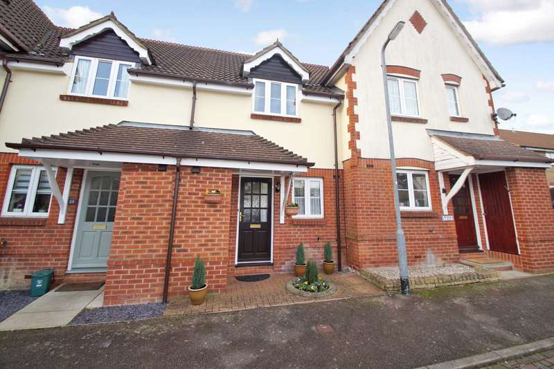2 Bedrooms Terraced House for sale in Chalkdell Hill, Hemel Hempstead, Herts