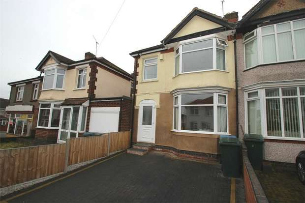 3 Bedrooms End Of Terrace House for sale in Honiton Road, Wyken, Coventry