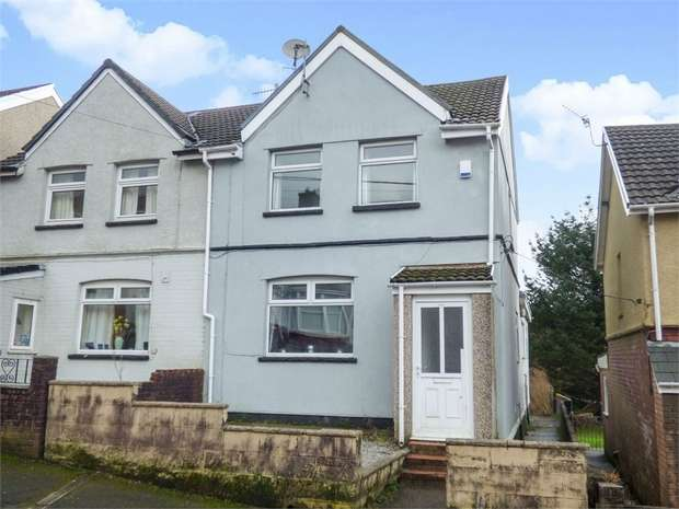 3 Bedrooms Semi Detached House for sale in Thomas Street, Gilfach Goch, Porth, Mid Glamorgan
