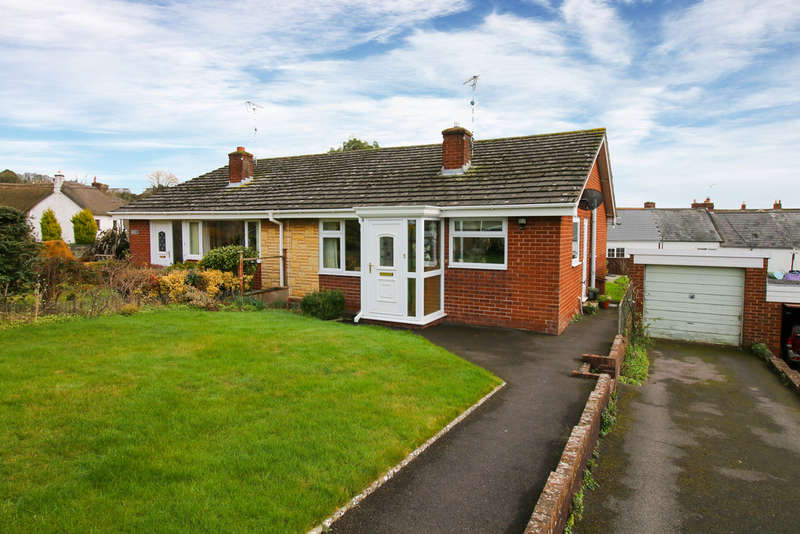 2 Bedrooms Semi Detached Bungalow for sale in Silverdale, Silverton
